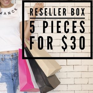 Other - Mystery Reseller Box   5 Clothing Items for $30